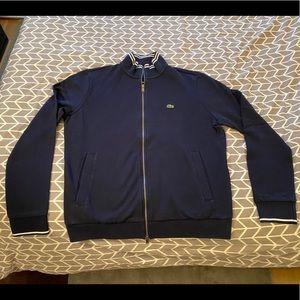 Lacoste Cotton Pique Zip Sweater